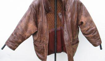Comment teindre une veste en cuir?