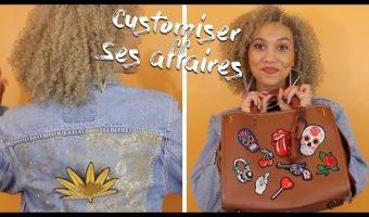 Customiser une veste en jean et un sac en cuir DIY