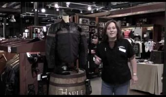 Pas Cher Blouson Cuir Harley Davidson Femmes Genuine Leather