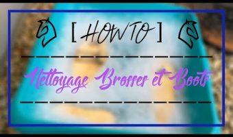 [ HOW TO ] Nettoyage de mes BROSSES et BOOTS en cuir !