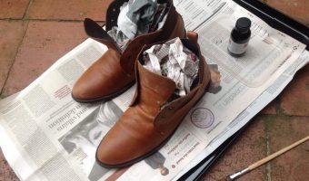 Assouplir mes chaussures en cuir